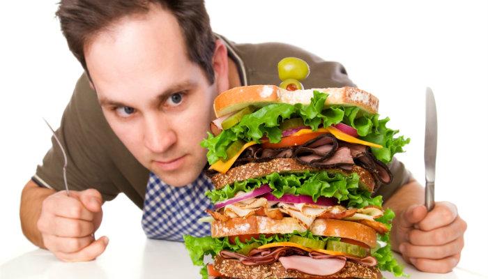 Overindulging