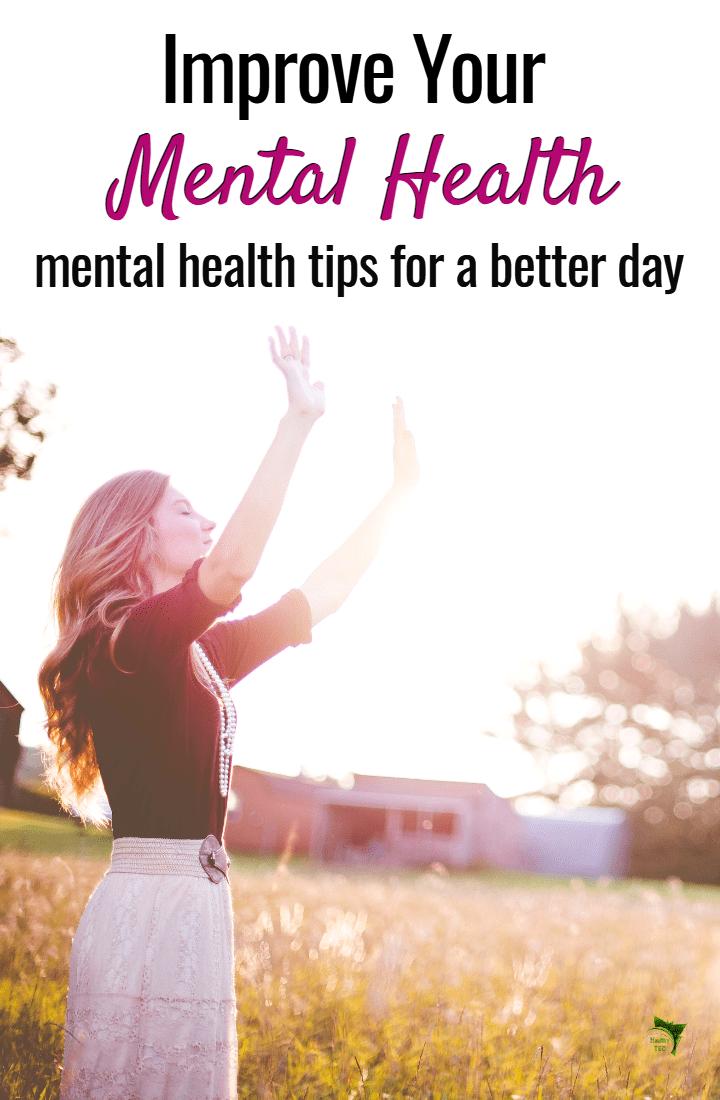 Health tactics to improve mental health