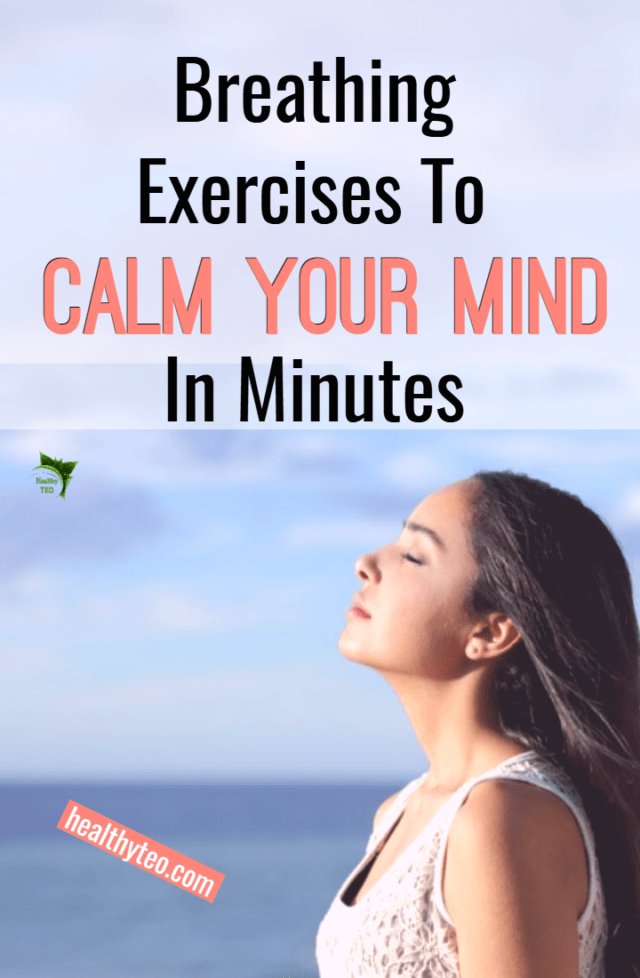 Breathing exercise for stress relief