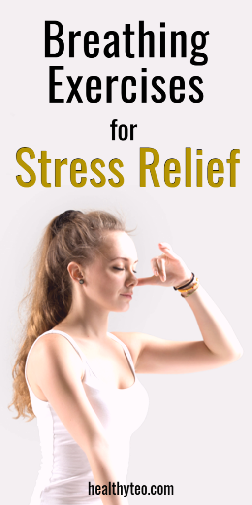 Breathing exercises to release stress