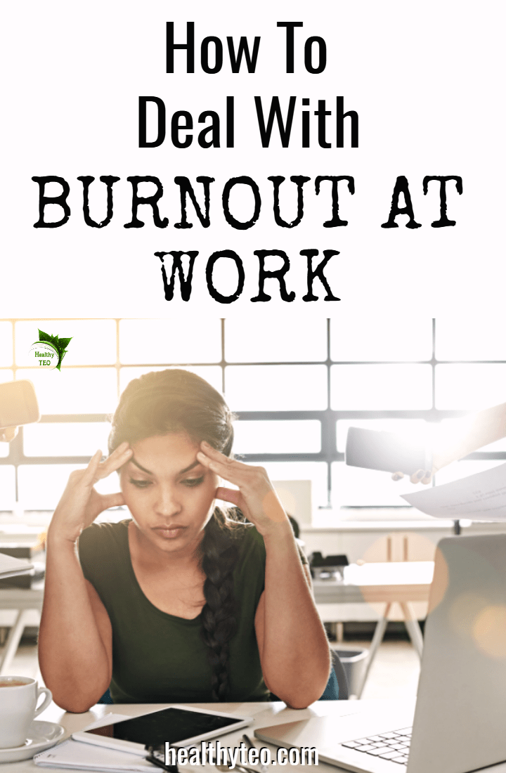 Burnout at work recovery