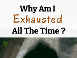 Why am I exhausted all the time