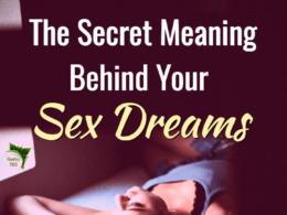 The secret behind sex dreams