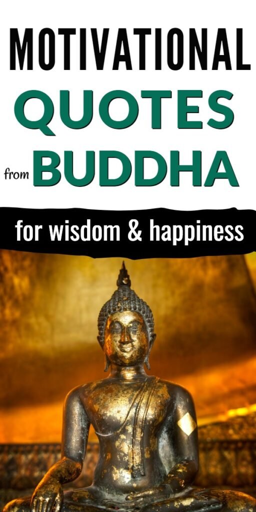 Motivational quotes from Buddha