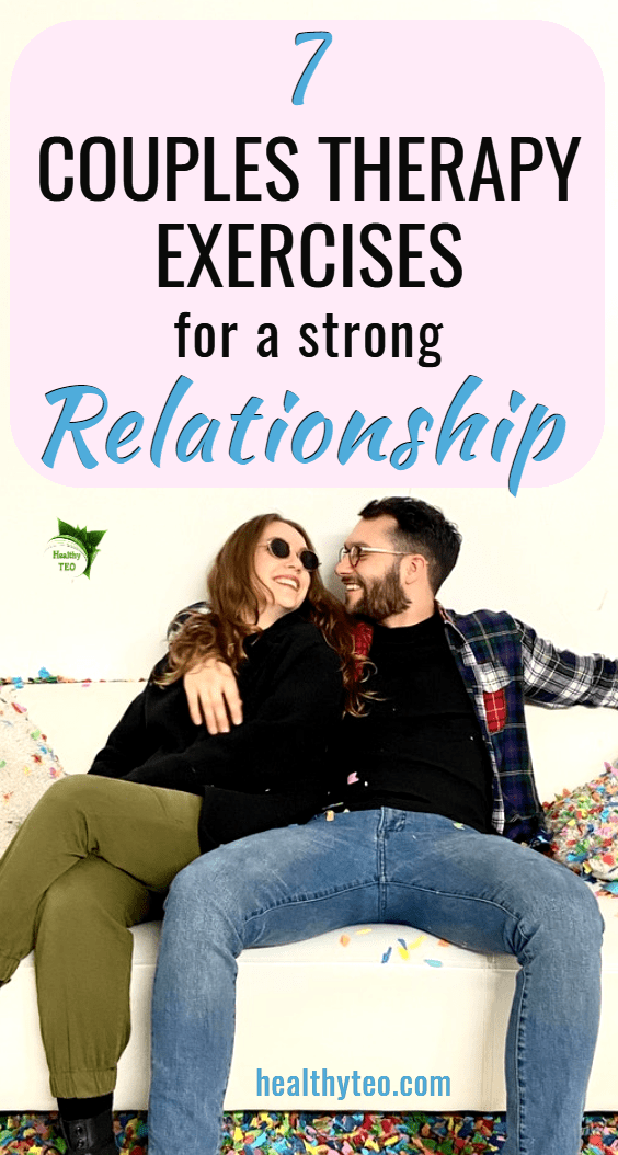 Couples exercises for a strong relationship
