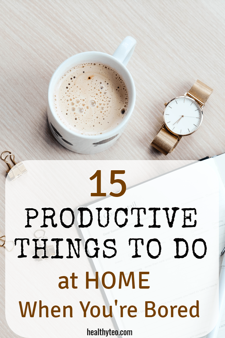 productive things to do home