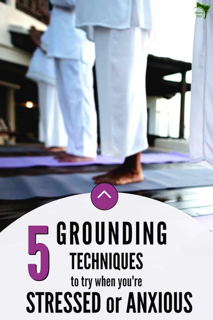 Grounding technique when feeling stress and anxiety