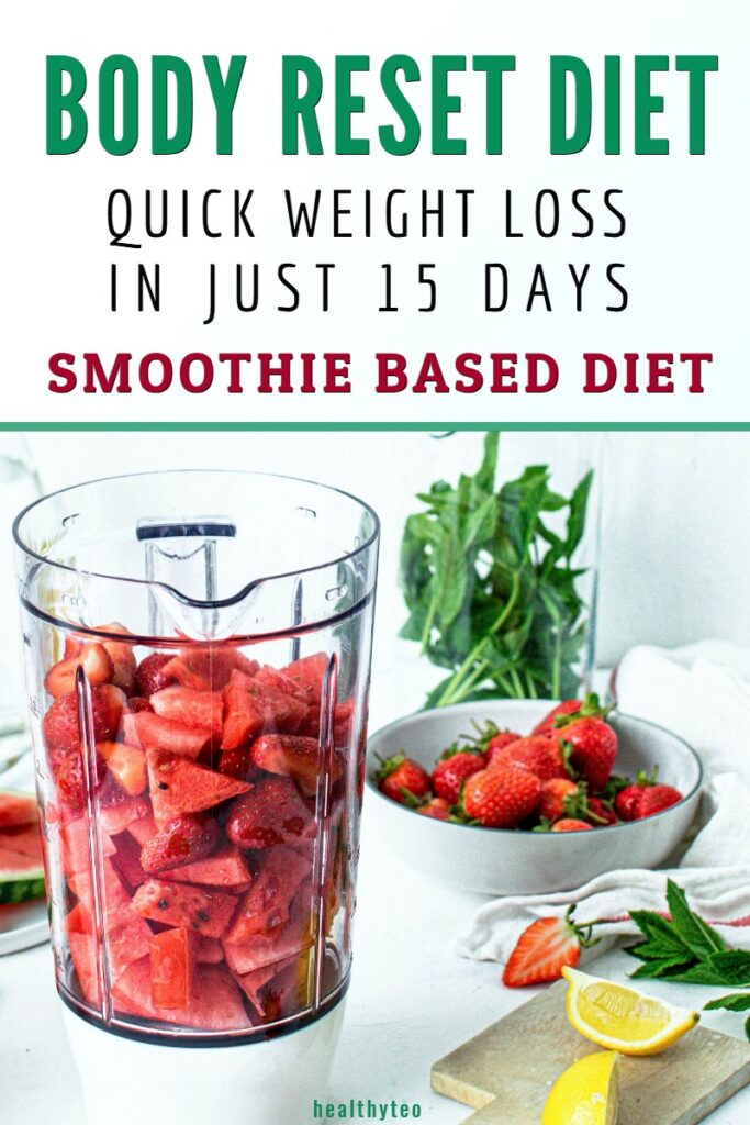 Body Reset diet: How to follow, benefits and downsides