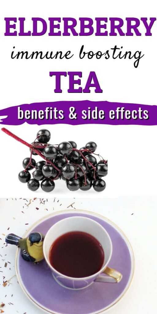 Benefits and side effects of elderberry tea