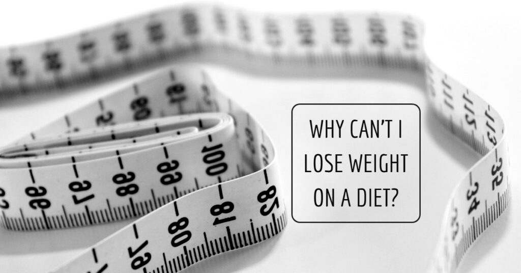 Common reasons why you can't lose weight