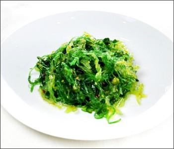 Wakame edible seaweed
