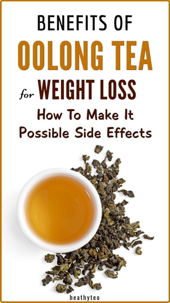 Benefits of oolong tea for weight loss