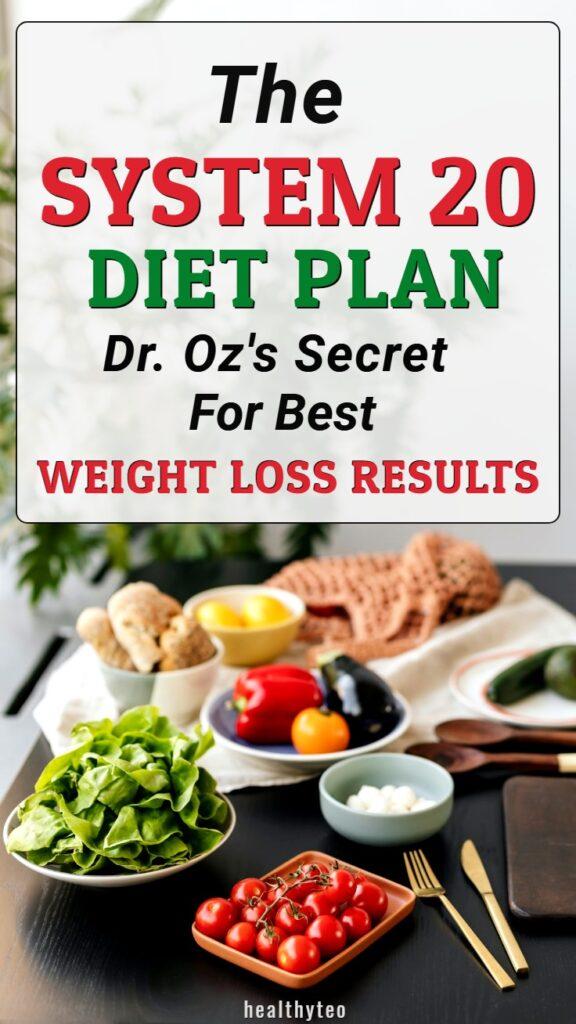 System 20 diet plan