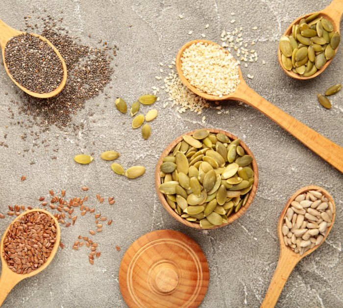 Types of healthy seeds to eat