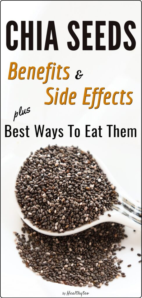 Benefits and side effects of eating chia seeds