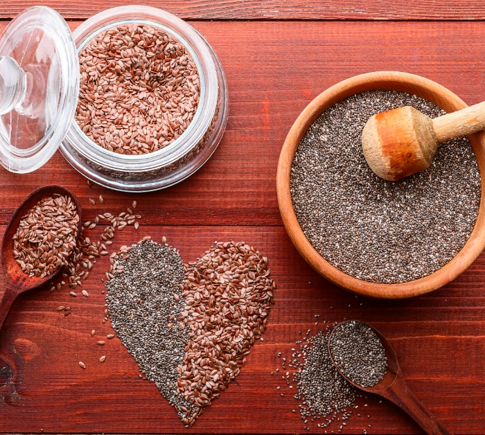 Chia vs. flax seeds