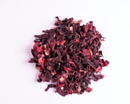 Hibiscus tea dried flowers