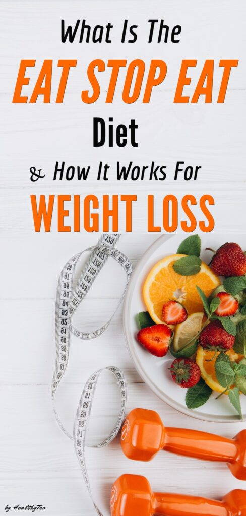 Eat Stop Eat diet for weight loss basics