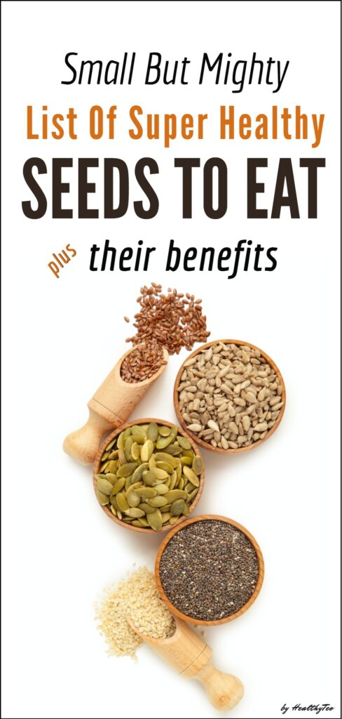 List of edible seeds that you should add into your diet