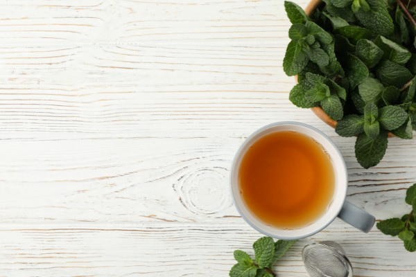Peppermint tea for weight loss