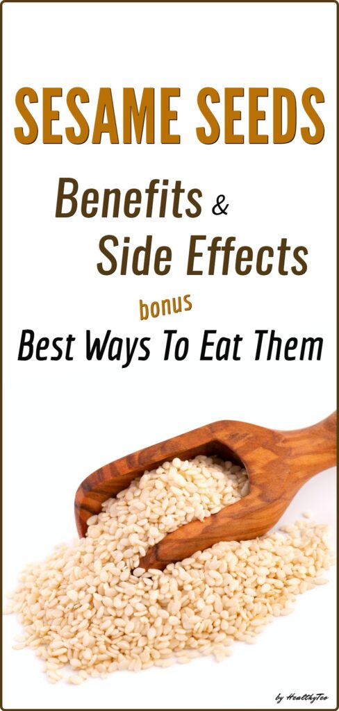 Sesame seeds benefits and potential risks and side effects