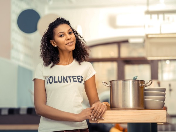 Volunteer to feel less lonely