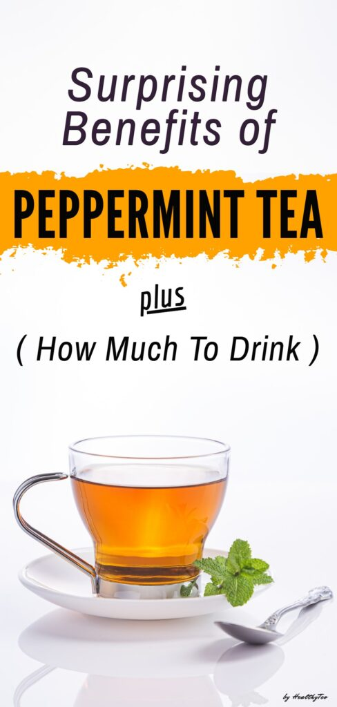 Benefits and side effects of drinking peppermint tea