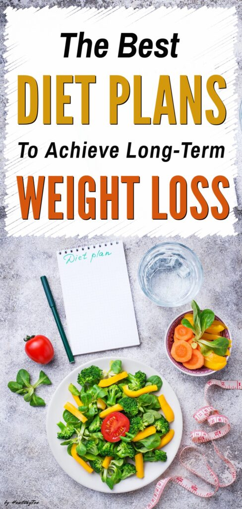 The best diet plans for losing weight