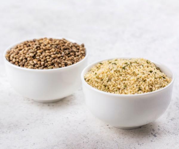 Difference between hemp seeds and hemp hearts