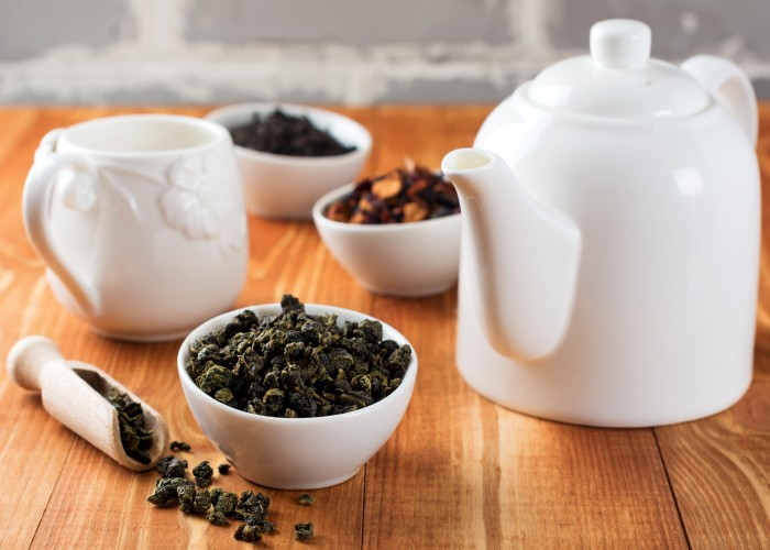 Methods for preparing oolong tea for weight loss