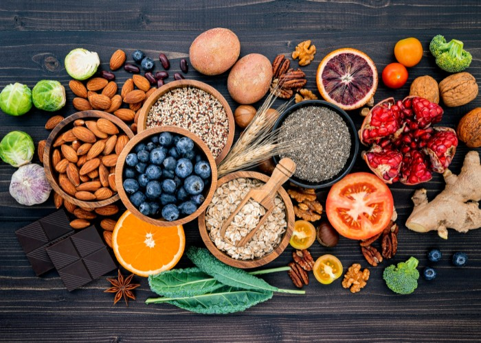 Complete list of foods for the paleo diet