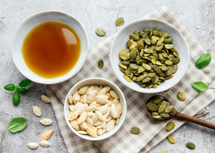 Pumpkin seeds and pumpkin seed oil